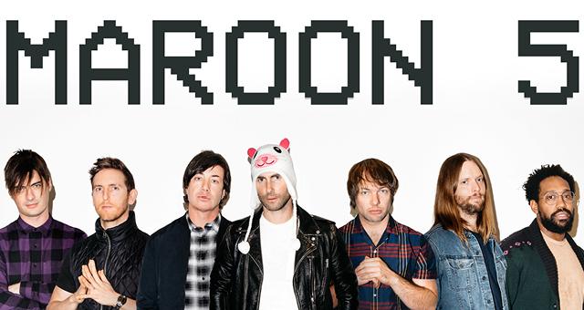 Maroon 5 v Prahe!