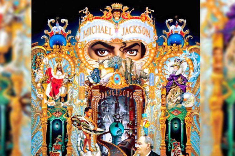 michael jackson dangerous album cover