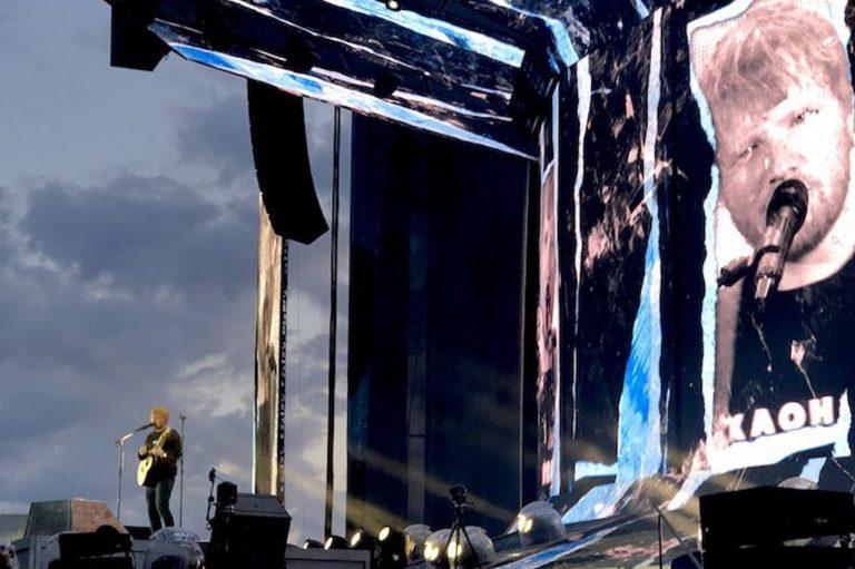 koncert eda sheerana v prahe