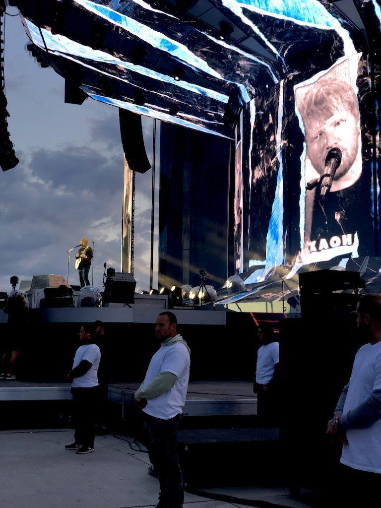 ed sheeran koncertoval v Prahe