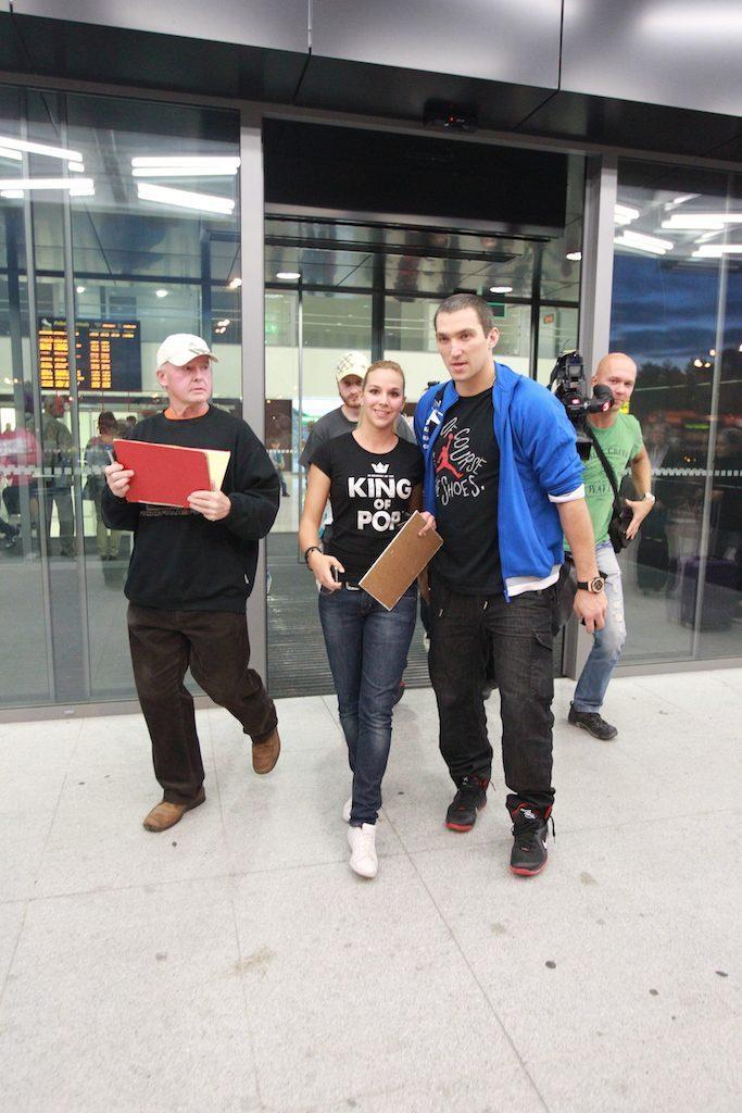 Oveckin na bratislavskom letisku